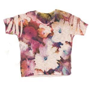 Ginger G | Floral Crochet Top